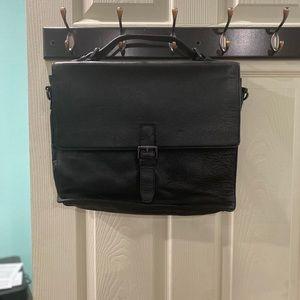 John Varvatos Briefcase Messenger Bag
